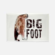 Bigfoot Woodbooger Rectangle Magnet (10 pack)