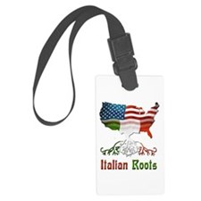American Italian Roots Luggage Tag