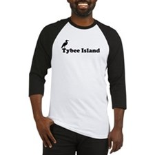 Tybee Island GA - Beach Design. Baseball Jersey