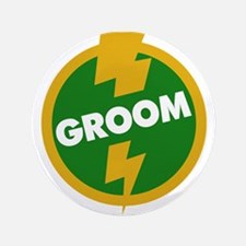 "Groom Wedding - Dupree 3.5"" Button"