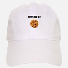 Powered By Cookie Baseball Baseball Cap