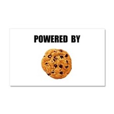 Powered By Cookie Car Magnet 20 x 12