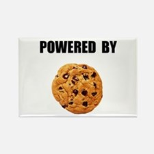 Powered By Cookie Rectangle Magnet (10 pack)