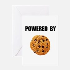 Powered By Cookie Greeting Card