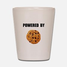 Powered By Cookie Shot Glass