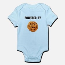 Powered By Cookie Infant Bodysuit