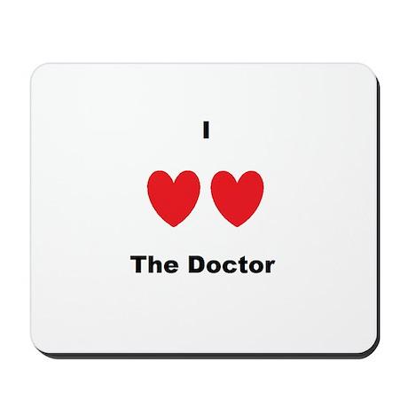 Heart the Doc Mousepad