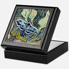 Van Gogh Great Peacock Moth Keepsake Box