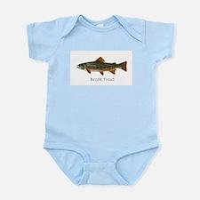 Painting of Brook Trout Infant Bodysuit