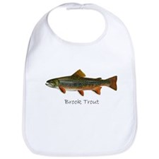 Painting of Brook Trout Bib