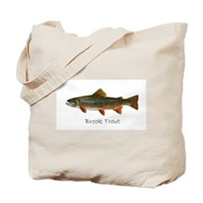 Painting of Brook Trout Tote Bag