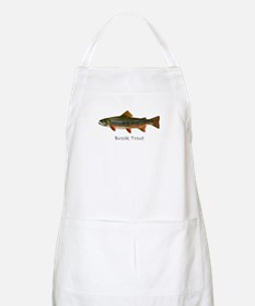Painting of Brook Trout Apron