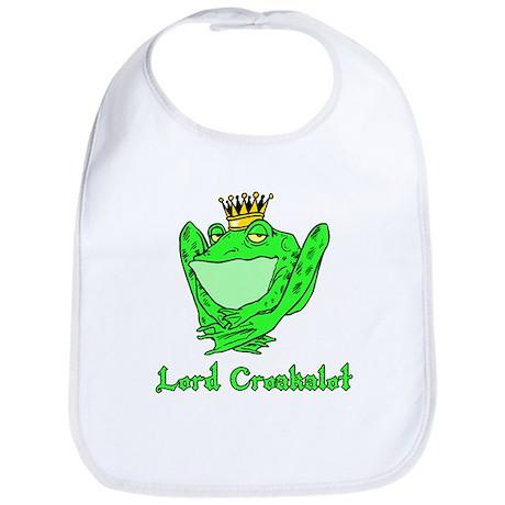 Lord Croakalot Bib