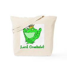 Lord Croakalot Tote Bag