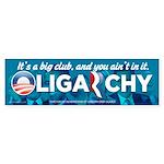 Oligarchy 2012 Sticker (Bumper)