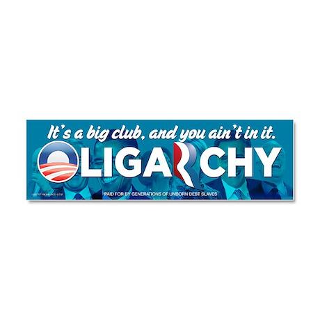 Oligarchy 2012 Car Magnet 10 x 3