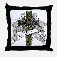 Gunn Tartan Cross Throw Pillow