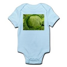 A head of Lettuce Infant Bodysuit