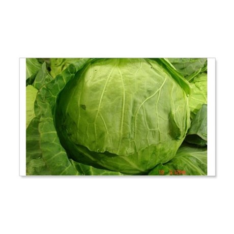 A head of Lettuce 20x12 Wall Decal