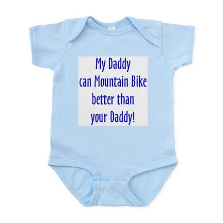 daddy mountain bike Body Suit