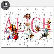 ALICE & FRIENDS IN WONDERLAND Puzzle