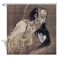 Kawanabe Kyosai Ghost Shower Curtain