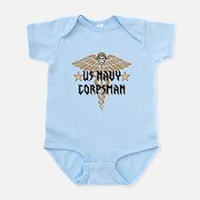 US Navy Corpsman Infant Bodysuit