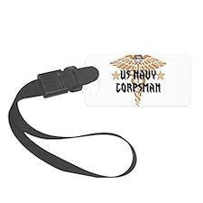 US Navy Corpsman Luggage Tag