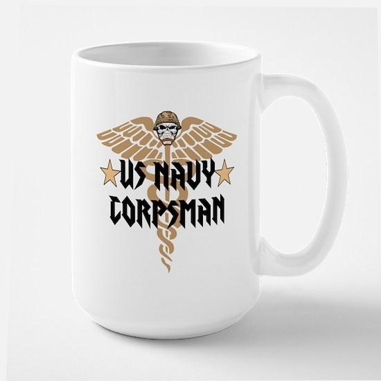 US Navy Corpsman Large Mug