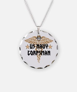 US Navy Corpsman Necklace