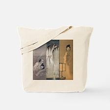 Kawanabe Kyosai 3 Ghosts Tote Bag