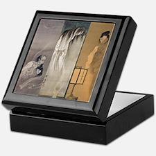 Kawanabe Kyosai 3 Ghosts Keepsake Box
