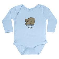 Hibernation Rocks Long Sleeve Infant Bodysuit