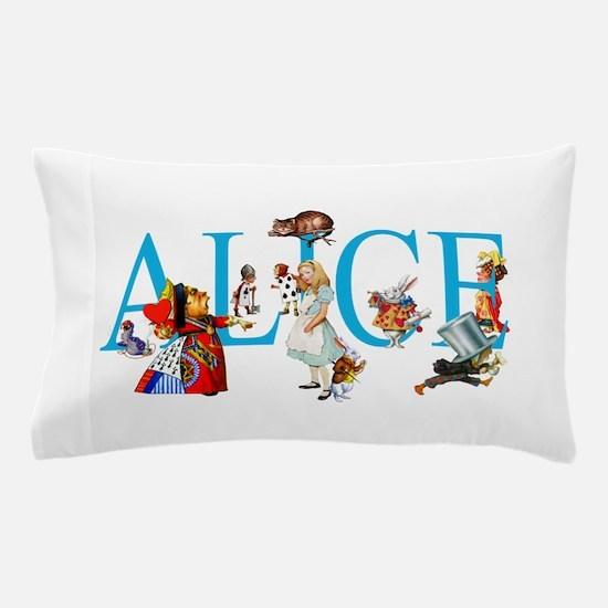 ALICE & FRIENDS IN WONDERLAND Pillow Case
