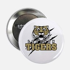"Lebanon Tiger (3) 2.25"" Button (10 pack)"