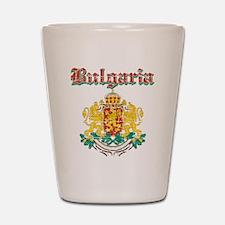Bulgaria Coat of arms Shot Glass