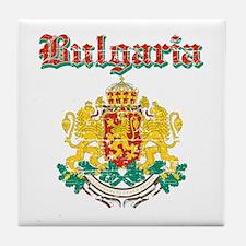 Bulgaria Coat of arms Tile Coaster