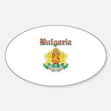 Bulgaria Coat of arms Sticker (Oval)