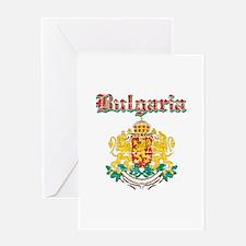 Bulgaria Coat of arms Greeting Card