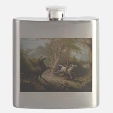 John Quidor Headless Horseman Flask