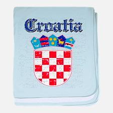 Croatia Coat of arms baby blanket