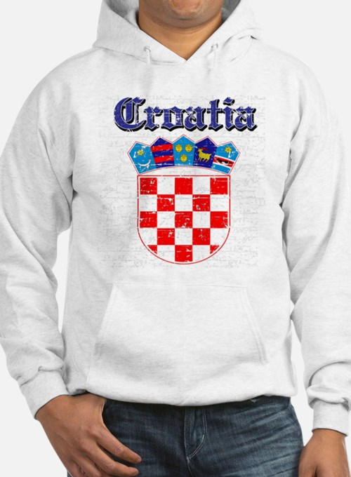 Croatia Coat of arms Hoodie Sweatshirt