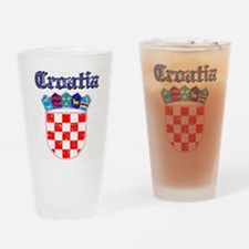 Croatia Coat of arms Drinking Glass