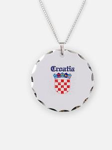 Croatia Coat of arms Necklace