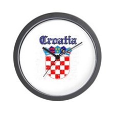 Croatia Coat of arms Wall Clock