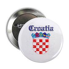 "Croatia Coat of arms 2.25"" Button"