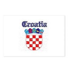 Croatia Coat of arms Postcards (Package of 8)