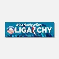 Oligarchy 2012 Fa,ily Affair Car Magnet 10 x 3