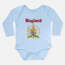England Coat of arms Long Sleeve Infant Bodysuit