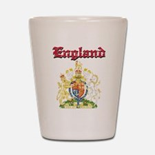 England Coat of arms Shot Glass